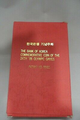 Bank of Korea Commemorative Coin of the 24th '88 Olympic Games
