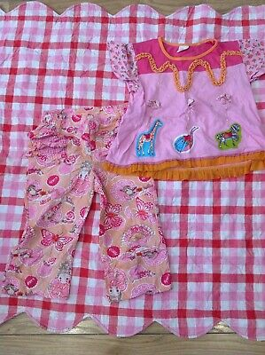 Oilily Designer Girls Gorgeous Top And Trousers Lovely Set 5-6 Years