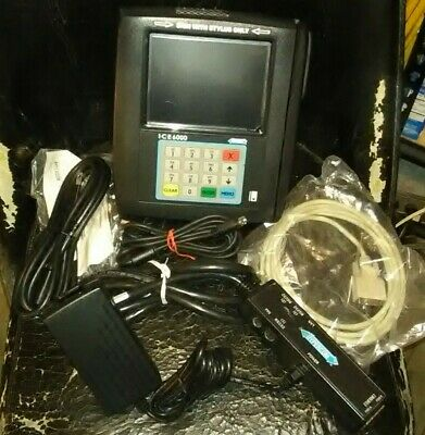Hypercom Ice 6000 Plus POS Credit Card Reader Terminal