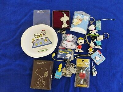 Lot Of Snoopy/Peanuts Items