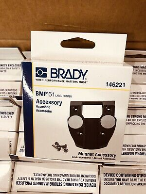 Lot 24 New Brady BMP-Magnet-1 - Bmp61 Label Printer Accessory Magnet Attachment