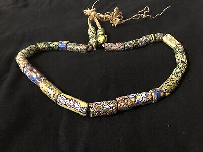 21 Inch african trading beads
