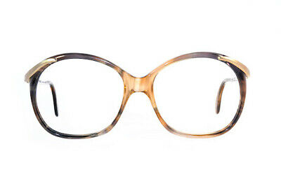 Vintage Spectacle Frame Women's Havana Gold 56 x 18 Never Worn Very Rare