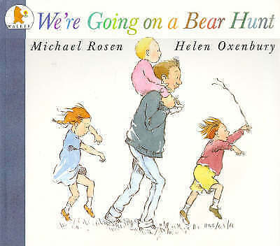 We're Going on a Bear Hunt by Rosen, Michael Paperback Book The Cheap Fast Free