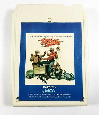 """""""Smokey And The Bandit"""" 8 track tape tested W/ Sleeve"""
