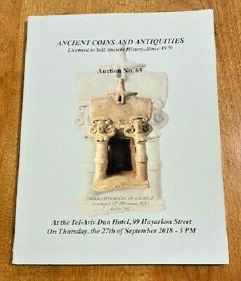 Biblical Holyland Coins & Antiquities Auction Catalog - Over 500 Fantastic Items