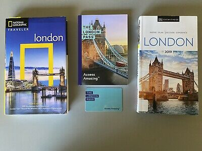 The 6 Day London Pass And London Travel Books