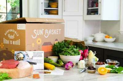Sunbasket.com meal delivery $100 gift code email/physical