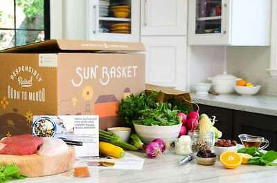 Sunbasket.com meal delivery $300 gift code email/physical