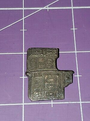 Malleable Steel Range Manufacturing Company stove shaped pin South Bend Indiana