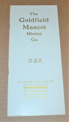 The Goldfield Mascot Mining Co. 1906 prospectus