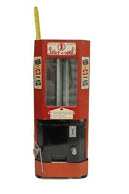 Select - O - Vend Vintage 1 Cent Candy Vending Machine