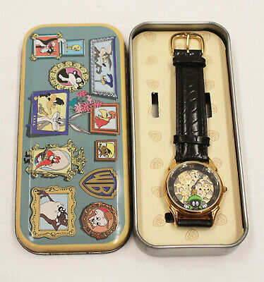 Vintage 1994 Fossil Warner Brothers Marvin the Martian Looney Tunes Watch