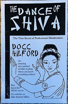 The Dance Of Shiva By Docc Hilford