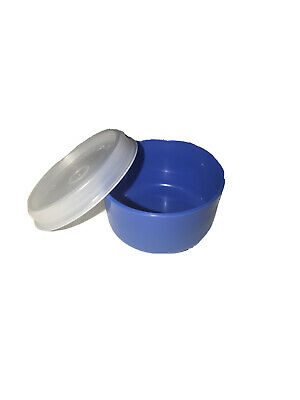 Tupperware SMIDGETS Blue w/Sheer Seals ~ Mini 1 oz Containers ~ Set of 5 ~ NEW!