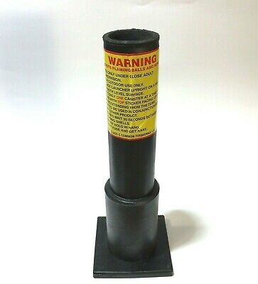 """HDPE Mortar Fireworks Tube with Base 12"""" Excalibur Shell"""