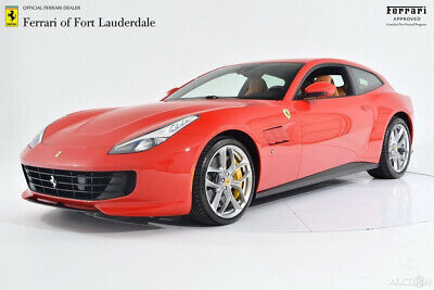 2019 Ferrari GTC4Lusso T V8 Certified CPO Carbon Fiber LED 20 Forged Yellow Calipers Advanced Front Driving Camera Shields