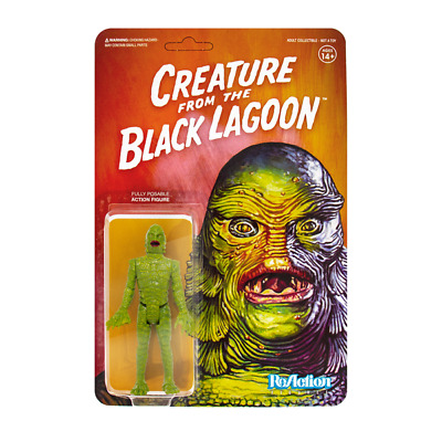 creature from the black lagoon reaction figure action figure horror