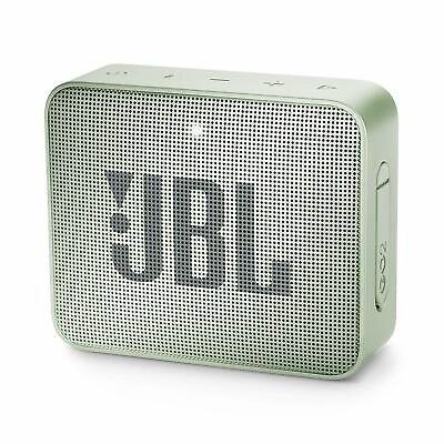 Cassa Portatile Ricaricabile Speaker Bluetooth Jbl Go2 Verde Menta Waterproof