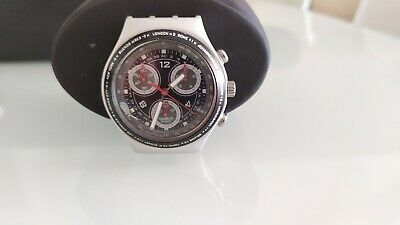 Orologio Swatch Irony Chrono Aluminium Watch Swiss Made vintage