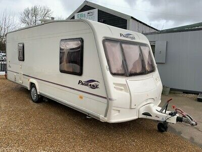 Bailey Pageant Vendee - 4 Berth - Single Axle Touring Caravan - Fixed Bed