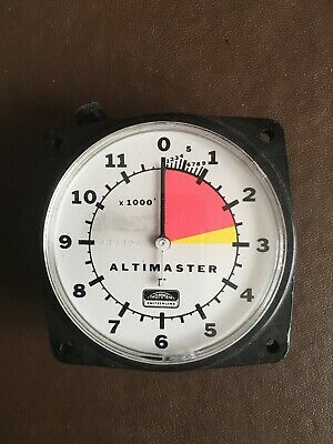 Skydiving Altimeter, Altimaster 2, Used, Chest / Rig Mounted