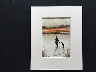 aceo original watercolour paintingToni Nice To Get Out In The Fresh Air