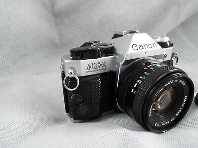 Canon AE-1 Program with a 50mm Canon lens