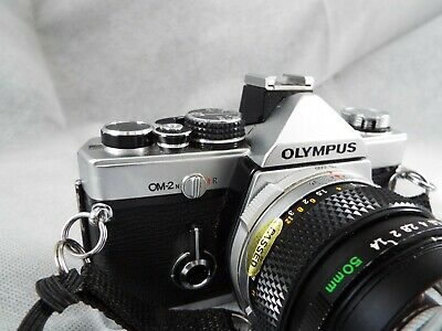 Olympus OM-2N SLR Body with 50mm 1:1.4 Olympus lens *FILM TESTED*