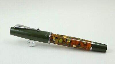 Montegrappa Monte Grappa Tuscany Forest M Nib Dromgoole's Exclusive Mint! 40/50