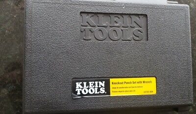 Klein Tools Knockout Punch Set W/Wrench Model 53732