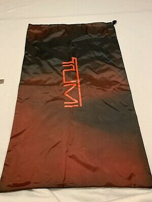 "Tumi Travel Access  Laundry Bag Red - Never used 17""x29"""