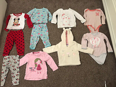 baby girls Clothes 12-18 months Disney,George,F&F