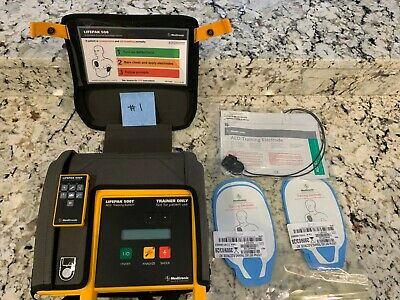 Lifepak 500 Training AED    Life Pak 500 AED Trainer for CPR Class
