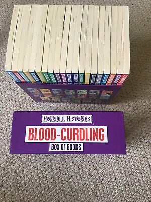 Horrible Histories 20 Books in Box Set  Awesome Egyptians by Terry Deary