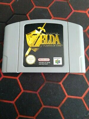 "The Legend of Zelda ""Ocarina of Time"" Nintendo 64"