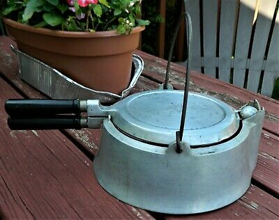 Vintage Super Maid Cookware High Base Waffle Iron