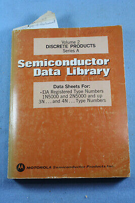 Vintage1974 MOTOROLA Semiconductor Data Library Discrete Products Series A Vol 2