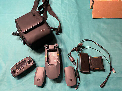 DJI Mavic Pro with Remote + Two Batteries + Drone Bag - camera issue