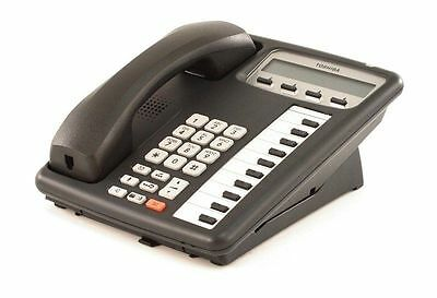 Toshiba IPT 2010-SD Black 10 Button Display IP Phone Refurbished