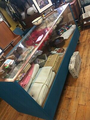 Vintage Haberdashery Shop Counter Display Cabinet