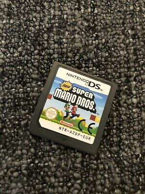 New Super Mario Bros (Nintendo DS) DSi 2DS 3DS Genuine EUR PAL