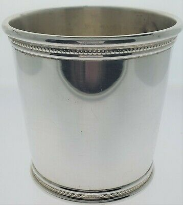 Mark J Scearce Sterling Mint Julep Cup with Presidential G.F. Ford Mark