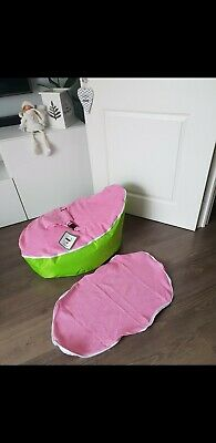 Baby bean bag with filling