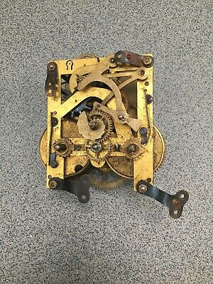 Striking Clock Movement Dial Spares Repairs Brass (B)