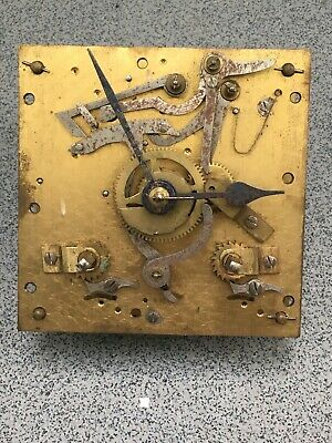 Striking Clock Movement Dial Spares Repairs Brass (D) Coventry Astral