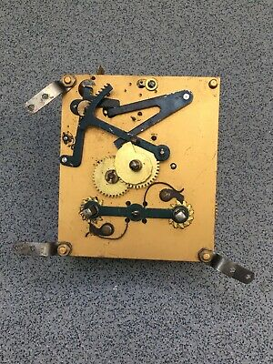 Striking Clock Movement Dial Spares Repairs Brass (F) Empire