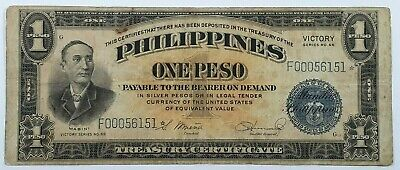 Victory Series 66 Philippines One Peso Star Note