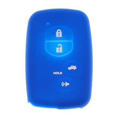 Car Keyless Entry Remote Smart Key Case Cover For Toyota Camry Deep Blue