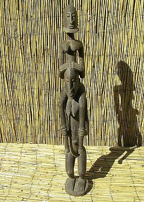 """African Dogon Figures  From Mali 31 """" Tall was $645"""